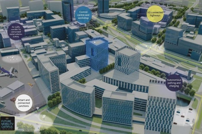 Jaguar Land Rover develops smart city hub to test self-driving vehicle technology