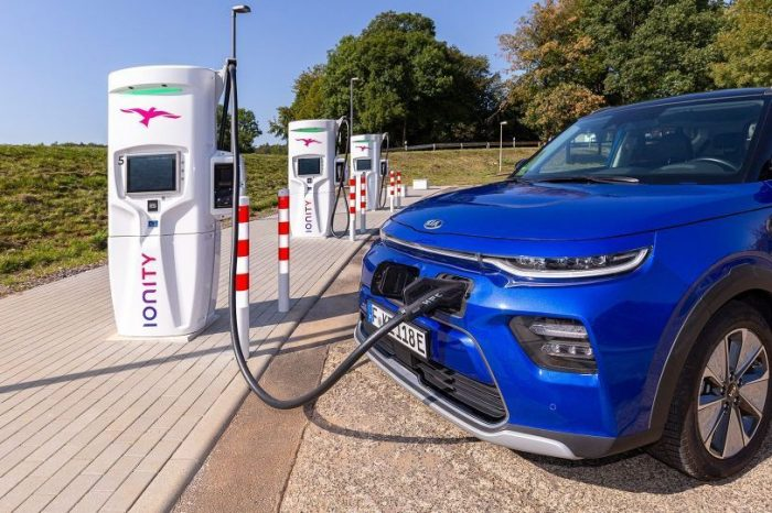 Hyundai, Kia join Ionity, Europe's high-power charging network for electric vehicles
