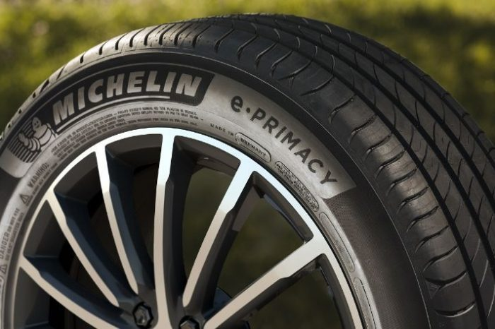 Michelin launches e.Primacy, its first CO2-neutral tire at the time of purchase