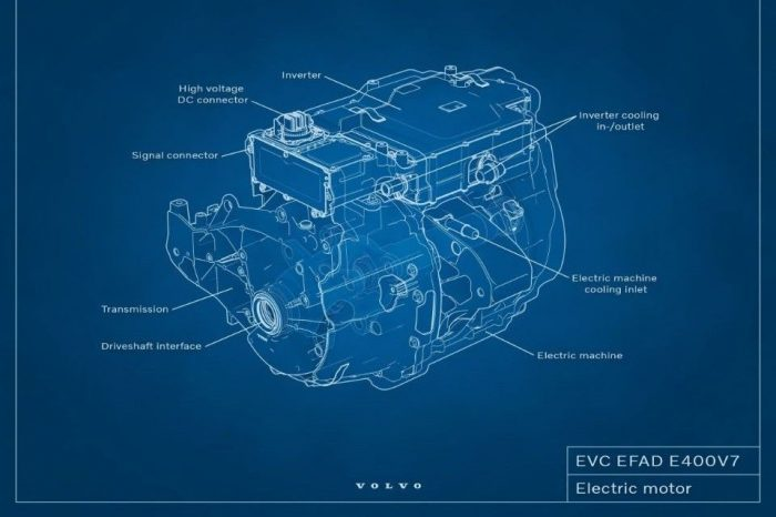 Volvo invests in designing and developing electric motors in-house