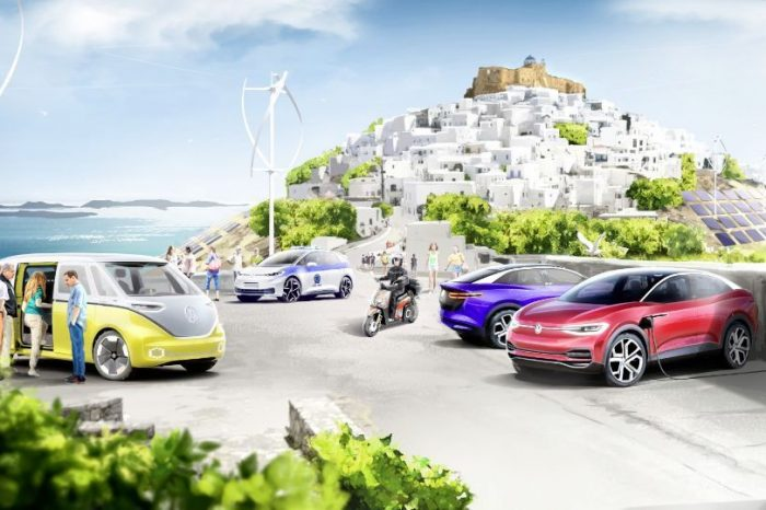 Volkswagen to create climate-neutral mobility system for Greek island