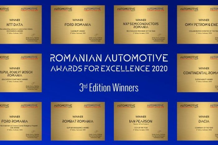 Here are the winners of the third Automotive Awards For Excellence Gala by The Diplomat-Bucharest!
