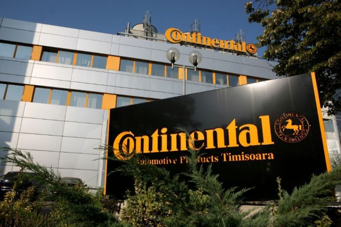 Continental Anvelope installs new emission treatment system in its Timisoara plant