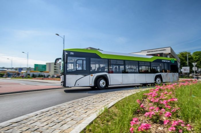 Solaris, global leader in the production of electric vehicles for public transport, to deliver 10 hybrid buses in Reghin