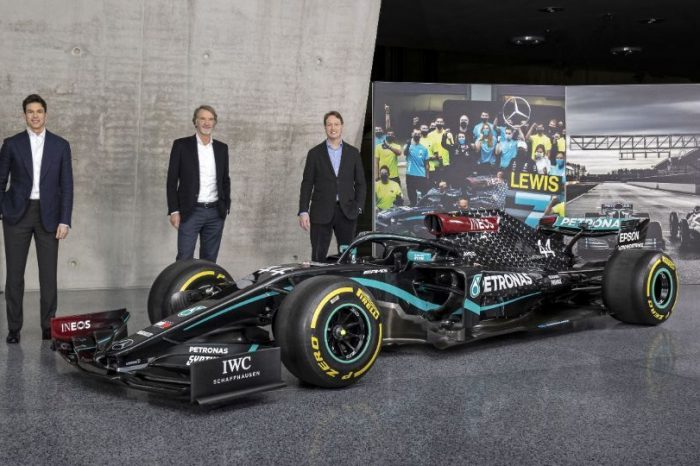 Mercedes-AMG announces INEOS as one third equal shareholder of its F1 team