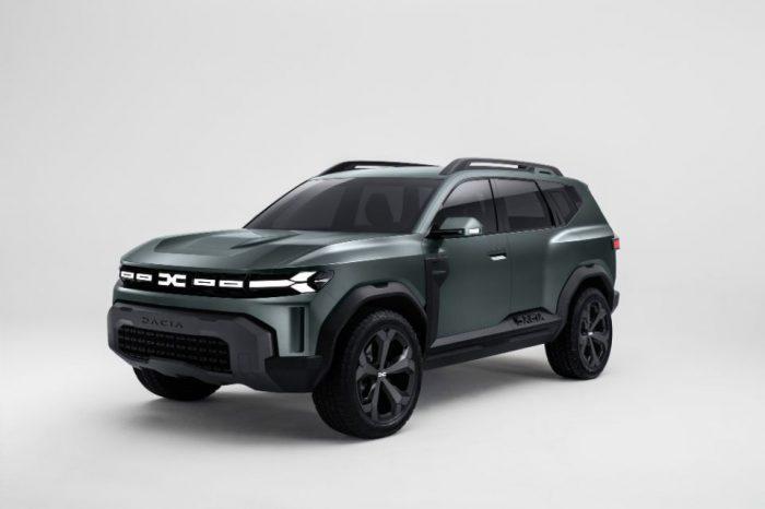 Dacia reveals new logo, new Bigster concept
