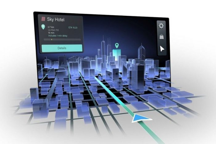Continental reveals 3D automotive navigation for safer, more intuitive in-vehicle user experience