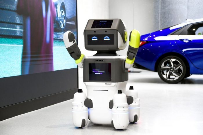 Hyundai launches humanoid robot for automated customer services