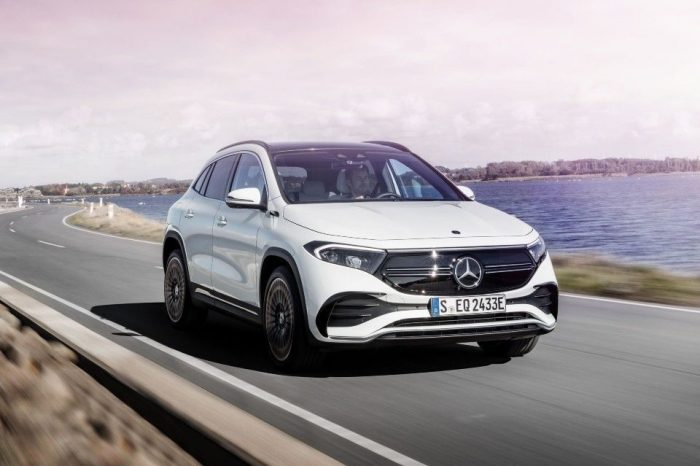 Mercedes launches EQA, a new all-electric compact SUV