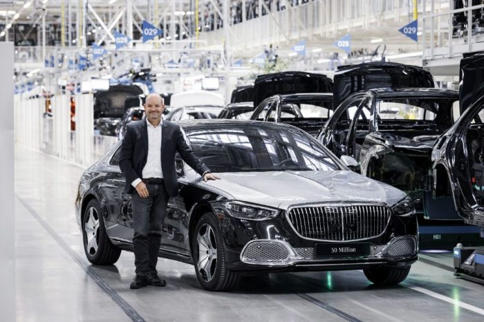 Mercedes-Benz celebrates production milestone: 50 million passenger cars from the global network