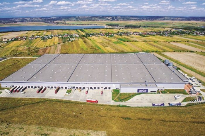 Automobile Dacia extends the 69,000 sqm of logistics space rented from Globalworth