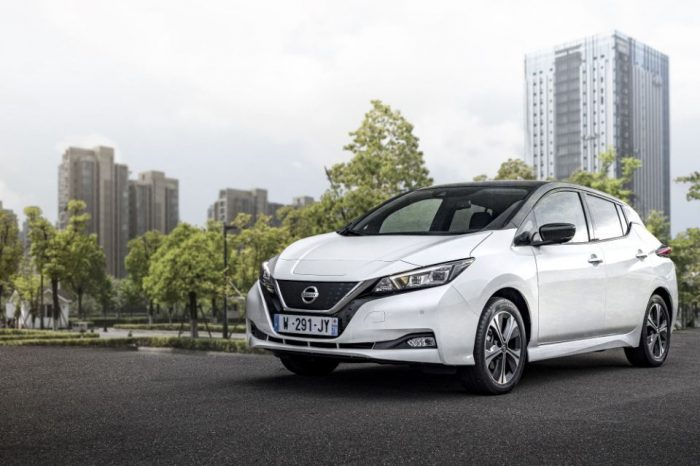 Nissan celebrates 10 years of Leaf, aims to plant 20,000 trees in Europe