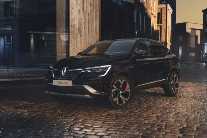 Renault Arkana scores five stars in Euro NCAP safety tests