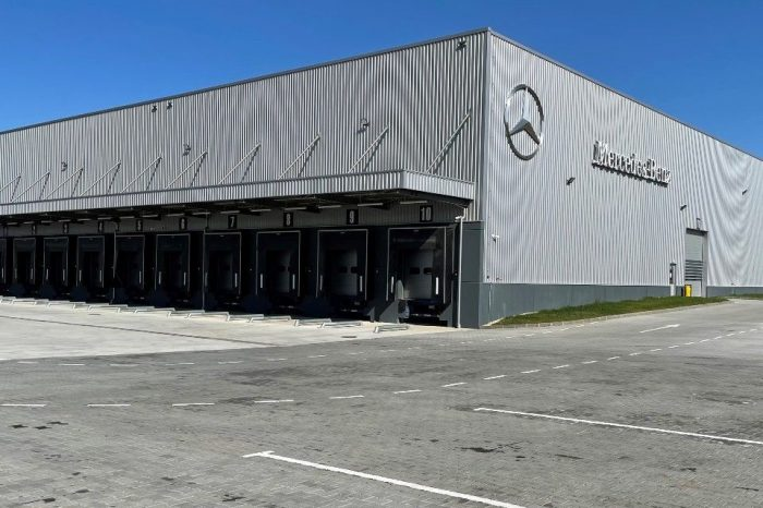 Mercedes-Benz Romania opens new logistics center near Bucharest
