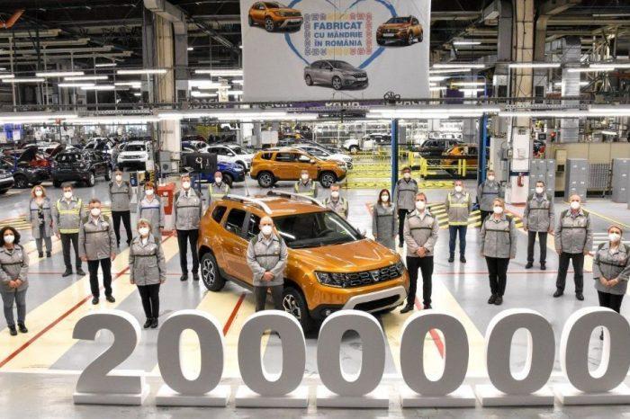 Dacia produced the 2,000,000 Duster in Mioveni