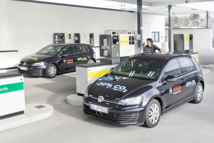 Bosch, Shell, and Volkswagen develop renewable gasoline with 20 percent lower emissions