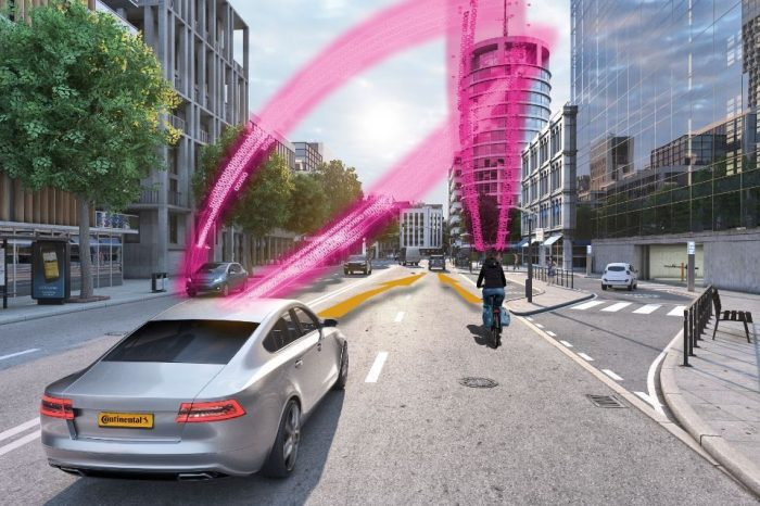 Continental and Deutsche Telekom develop collision warning system to protect pedestrians and cyclists