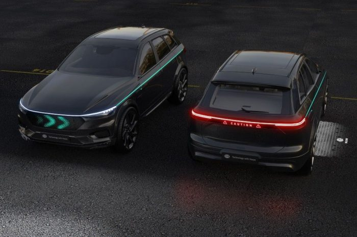 Hella develops concepts for light-based communication for automated driving