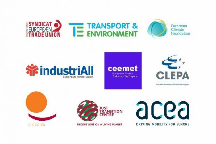 Europe's automotive workforce needs Just Transition framework, warn trade unions, industry, employers and NGOs