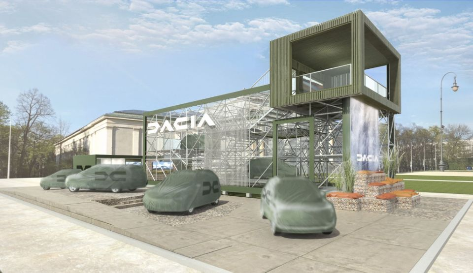Dacia to reveal new 7-seater family car in Munich