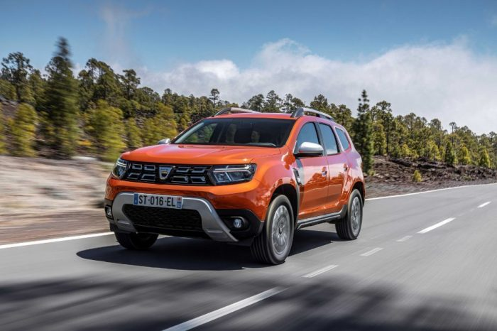 Dacia Duster facelift now available to pre-order in Romania