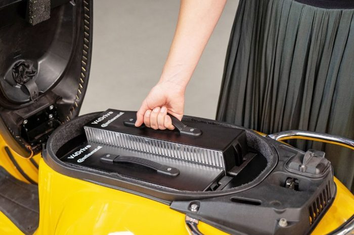Continental and Varta are developing a battery for electric two-wheelers