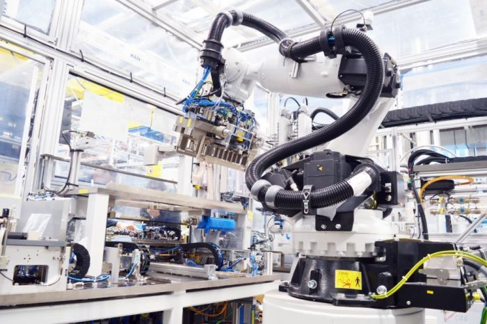 Bosch supplies factory equipment for battery production, aims for sales of 250 million Euro by 2025