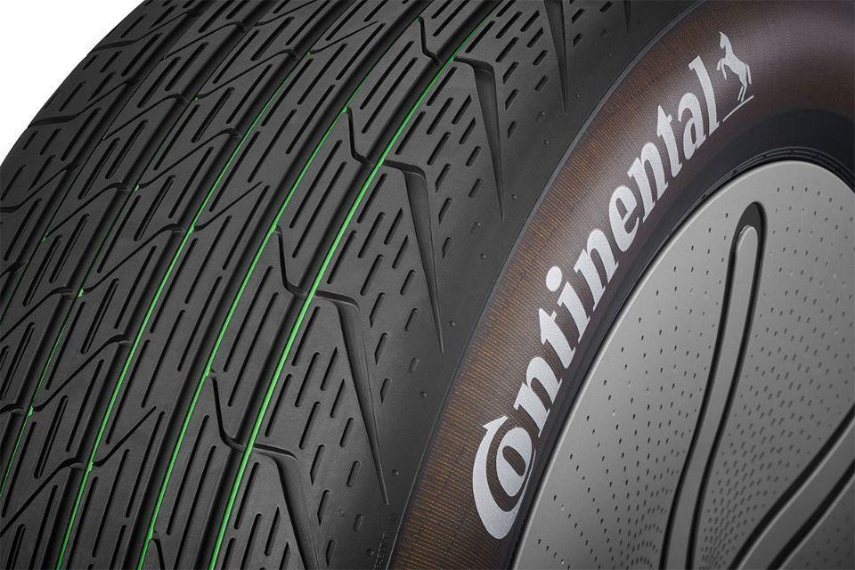 Continental reveals tire concept Conti GreenConcept at IAA
